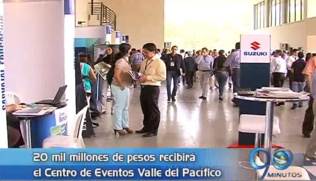 Minhacienda  invertirá 20 mil millones en Centro de Eventos Valle del Pacífico
