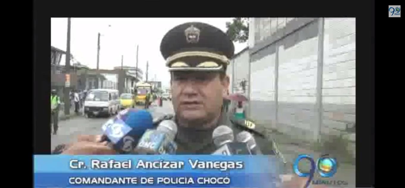 Sancionado motociclista ebrio en Quibdó