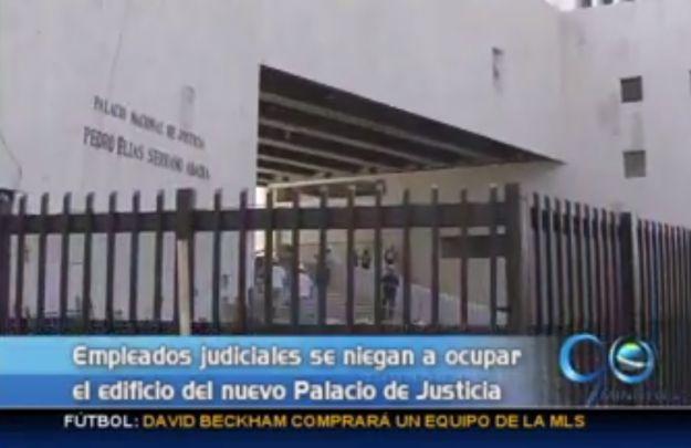Empleados de Asonal se niegan a ocupar Palacio de Justicia