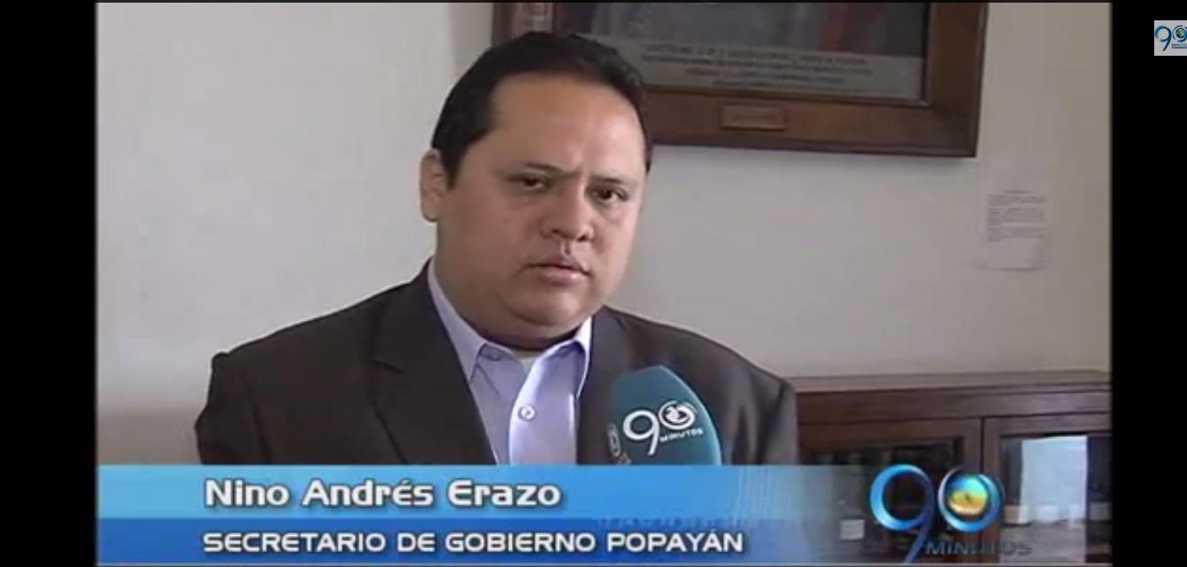 Autoridades de Popayán presentan logros en control de homicidios