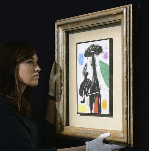 Suspendida subasta de obras de Joan Miró por litigio en portugal
