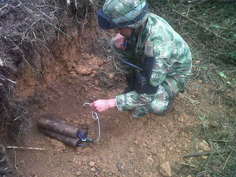 Hallados y destruidos siete tatucos por el Ejército Nacional