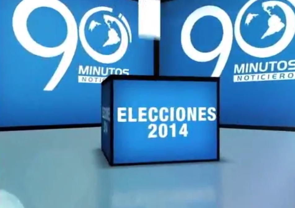 Agenda Electoral 2014 de 90 Minutos del 7 de Marzo