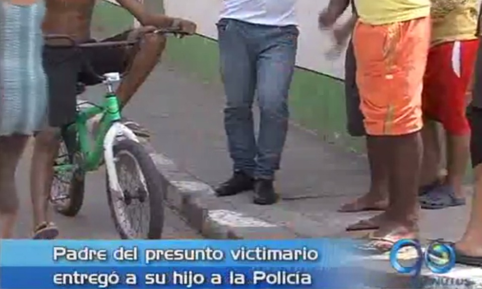 Padre de presunto victimario entregó su hijo a la Policía
