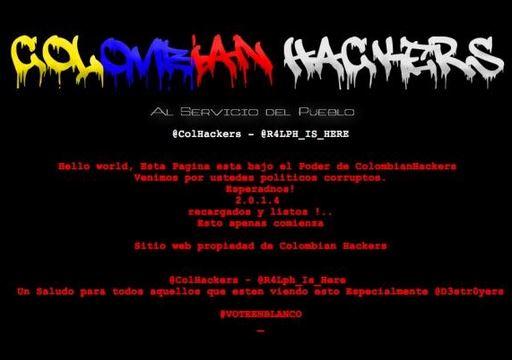 Hackean las páginas web del Polo democrático y de Jorge Robledo
