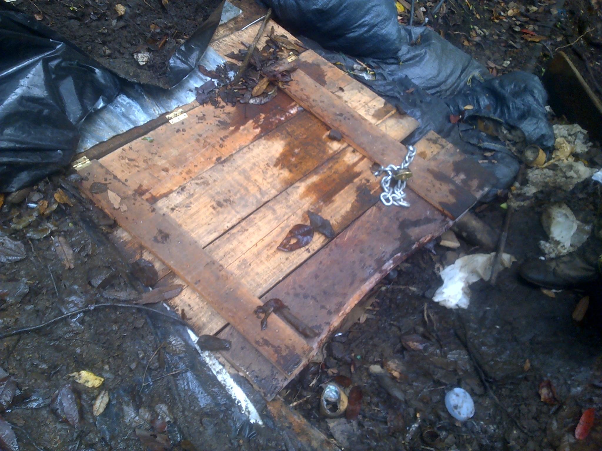 Fue descubierta una represa artesanal de las Farc en el Cauca