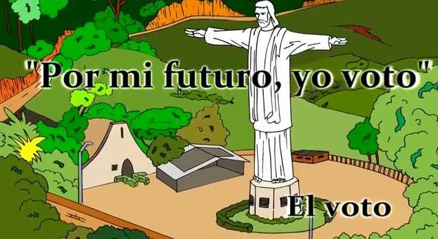 """""""Por mi futuro, yo voto"""""""