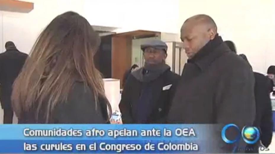 OEA investigará elección de representantes de comunidades afro