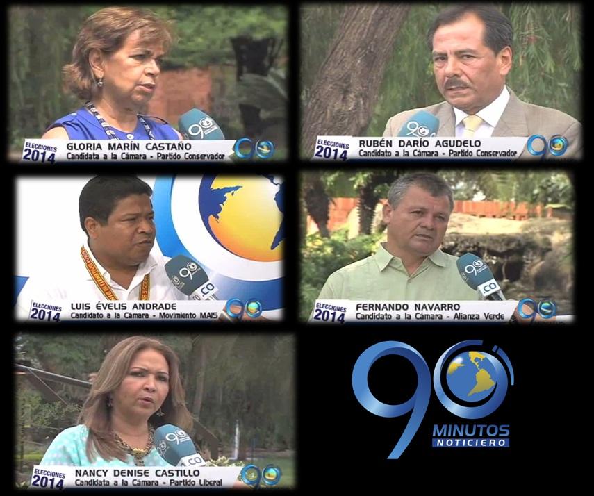 Cinco candidatos a la Cámara presentan sus propuestas