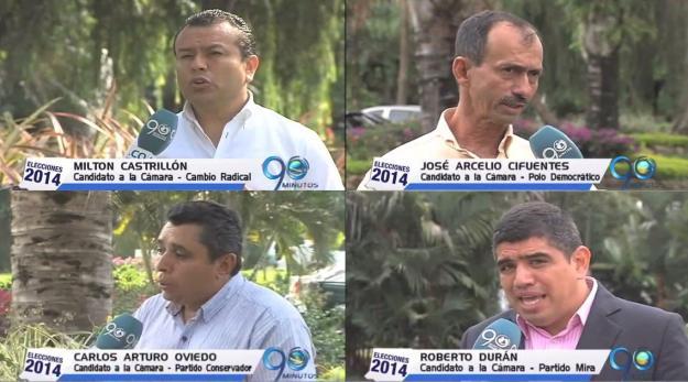 Cuatro candidatos a la Cámara presentan sus propuestas