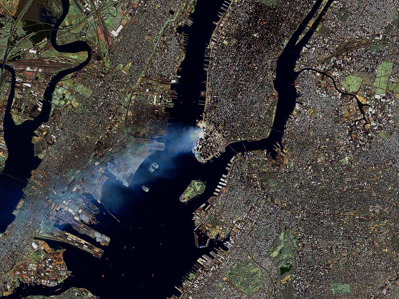 Astronauta grabó el atentado contra las Torres Gemelas desde el espacio