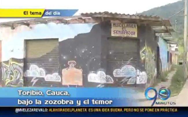 Hostigamiento de la guerrilla en Toribío continúa