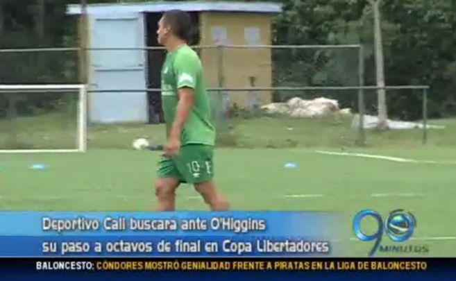 Deportivo Cali recibirá al O'Higgins esta noche por Copa Libertadores