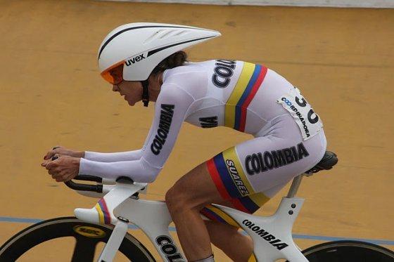 María Luisa Calle, medalla de plata en los Juegos Suramericanos de Chile