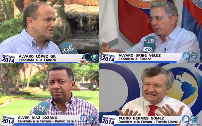 Álvaro Uribe Vélez al Senado y cuatro candidatos a la Cámara presenta sus propuestas