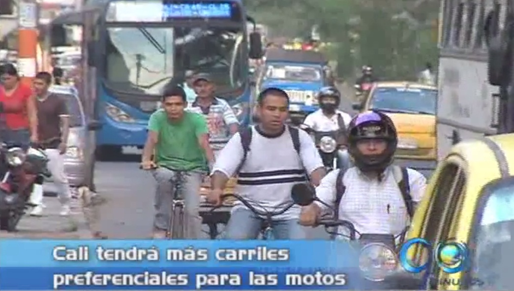 Cali tendrá más carriles exclusivos para motos