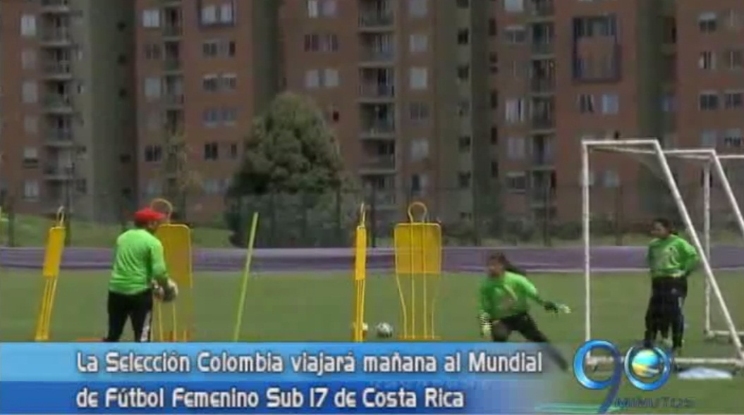 Selección Colombia femenina ya está lista para enfrentarse a Costa Rica