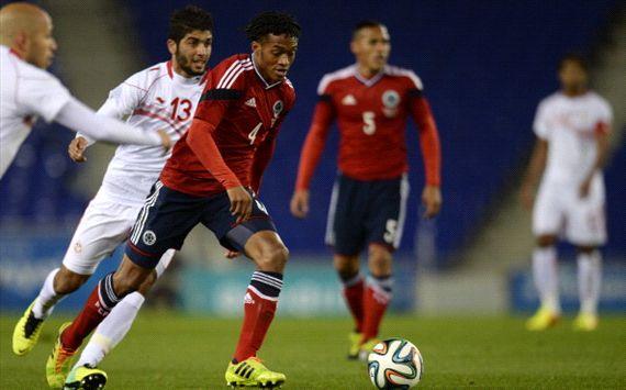 Colombia consigue un amargo empate en el amistoso frente a Túnez
