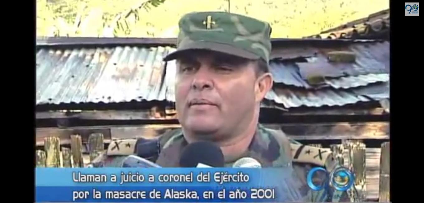 Coronel del Ejército irá a juicio por masacre en Buga