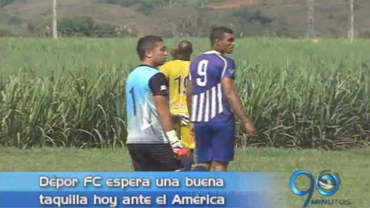 Dépor FC recibe esta noche al América en el Pascual Guerrero