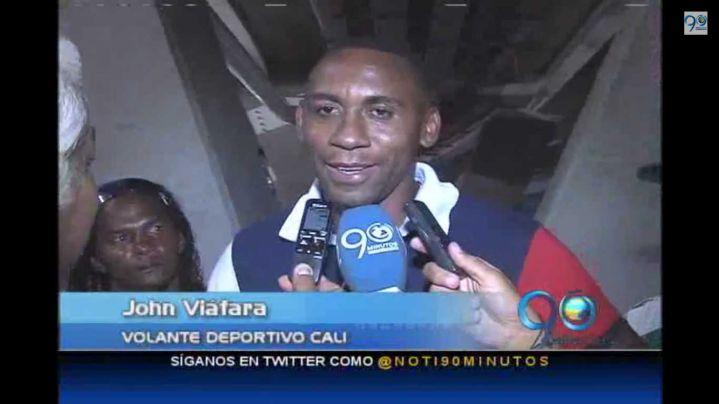 Deportivo Cali confía en John Viáfara para su juego ante Lanús