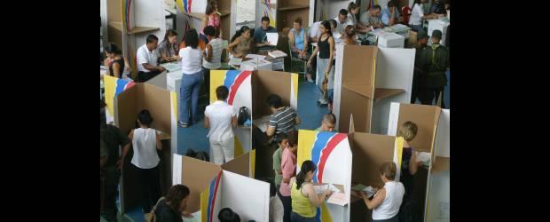 Doce personas capturadas durante jornada electoral, seis por delito de voto