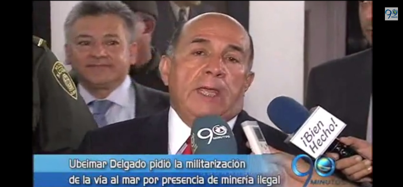 Gobernador del Valle apoya militarización de Buenaventura