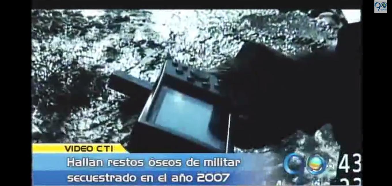 CTI encuentra restos óseos de militar secuestrado en 2007