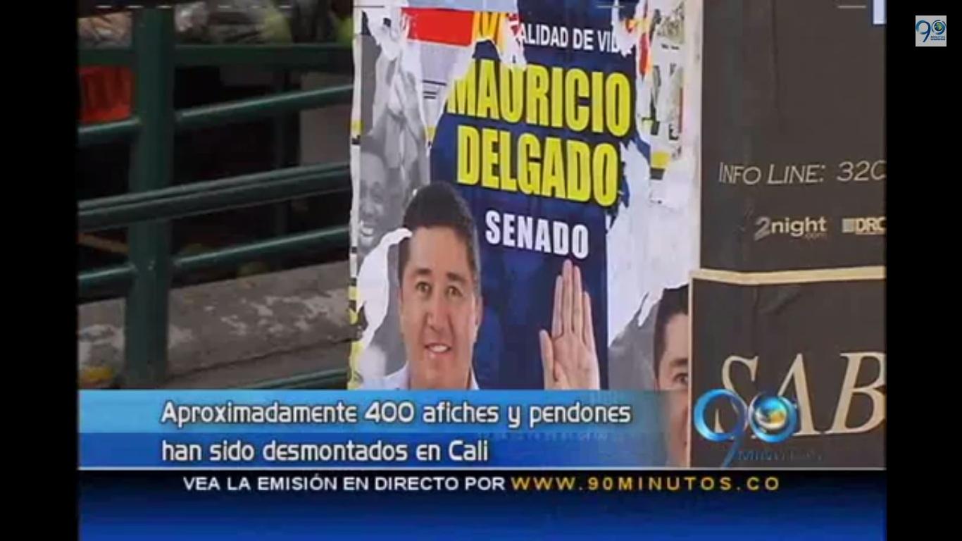 Procesos investigativos a ocho partidos políticos por publicidad