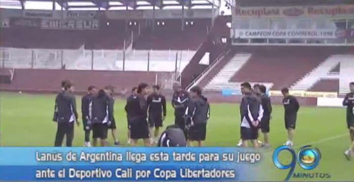 Lanús llega a la capital del Valle para enfrentarse con los 'azucareros'