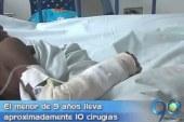 Muere niña chocoana que se recuperaba de quemaduras en el HUV