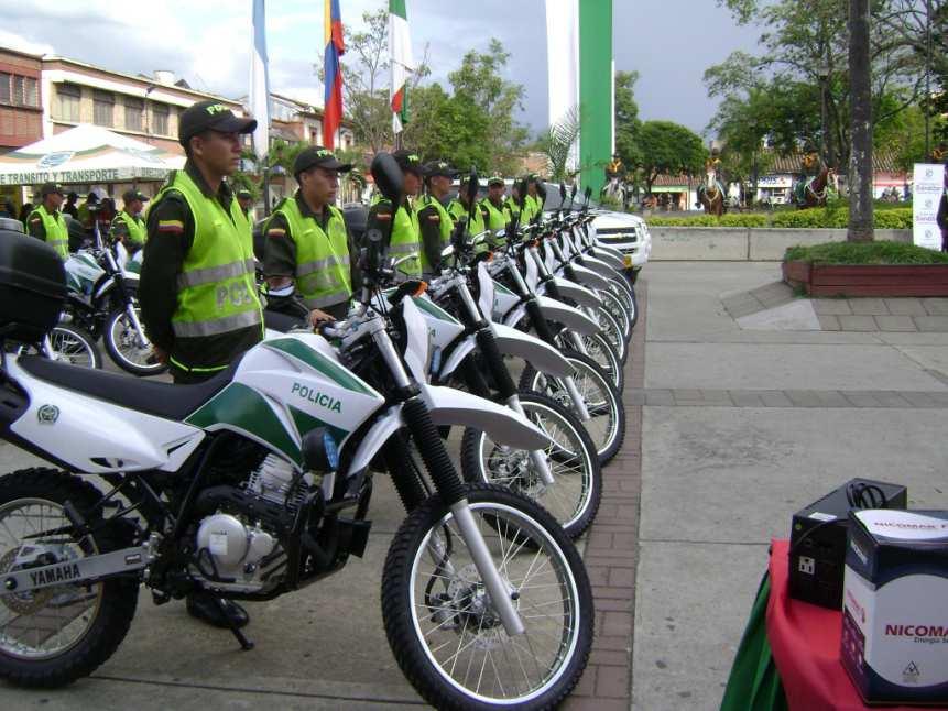 Tuluá tiene un renovado parque automotor para la Policía