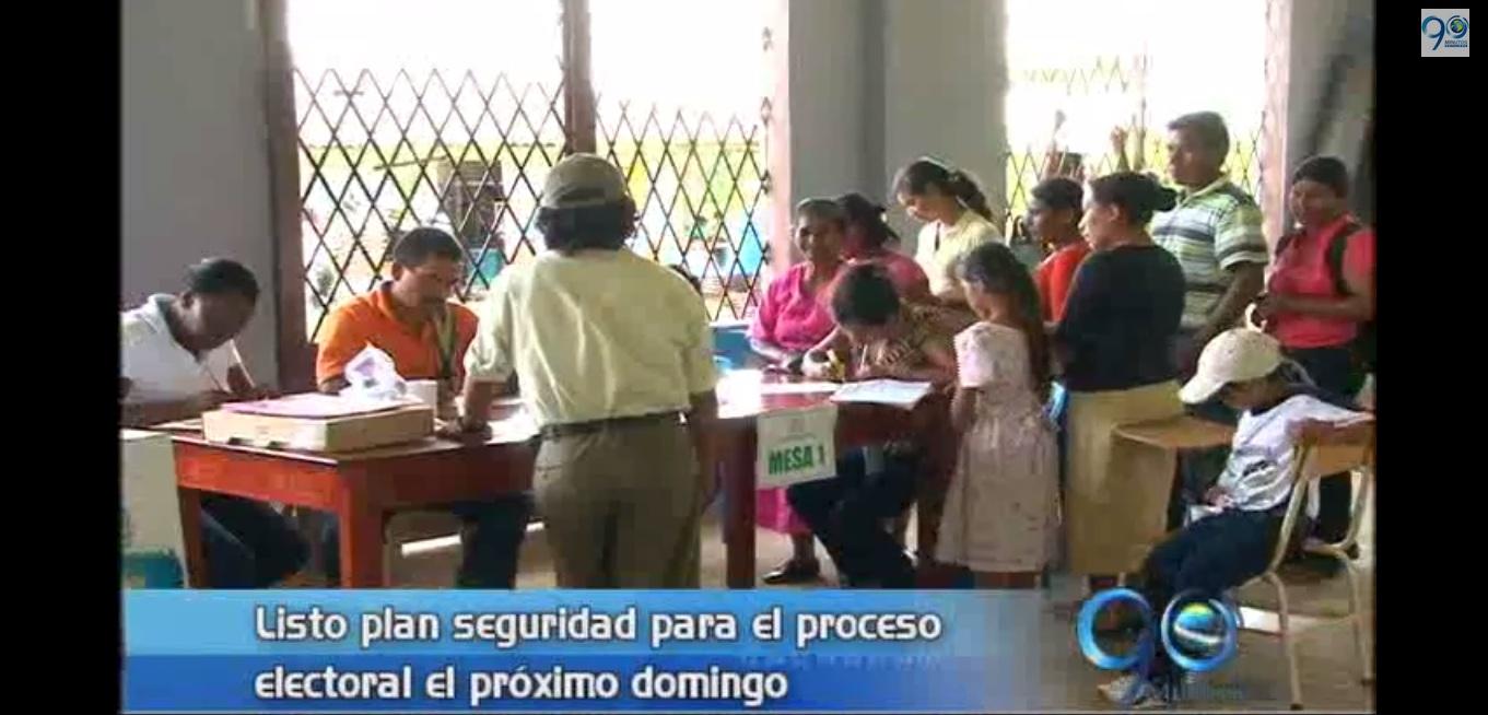 Alcaldía explica medidas de seguridad para elecciones