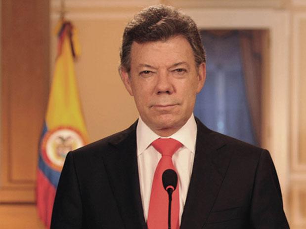 Presidente Santos inscribirá su candidatura el 4 de marzo