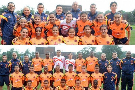 Selecciones Colombia de fútbol en los X Juegos Suramericanos Chile 2014