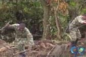 Continúa búsqueda de soldados atrapados en derrumbe en vía Quibdó-Medellín