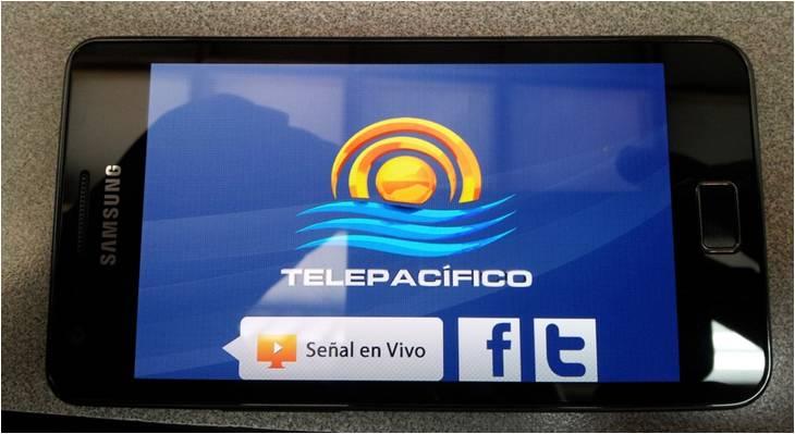 Disponible aplicación de Telepacífico para dispositivos móviles