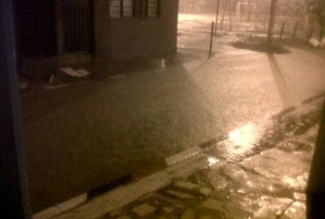 En imágenes quedó registrado aguacero en la ciudad