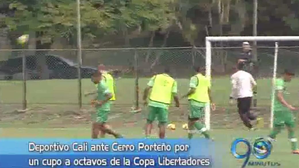 Deportivo Cali se juega esta noche su paso a octavos de final