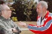 Fidel Castro consternado por la muerte de Gabriel García Márquez