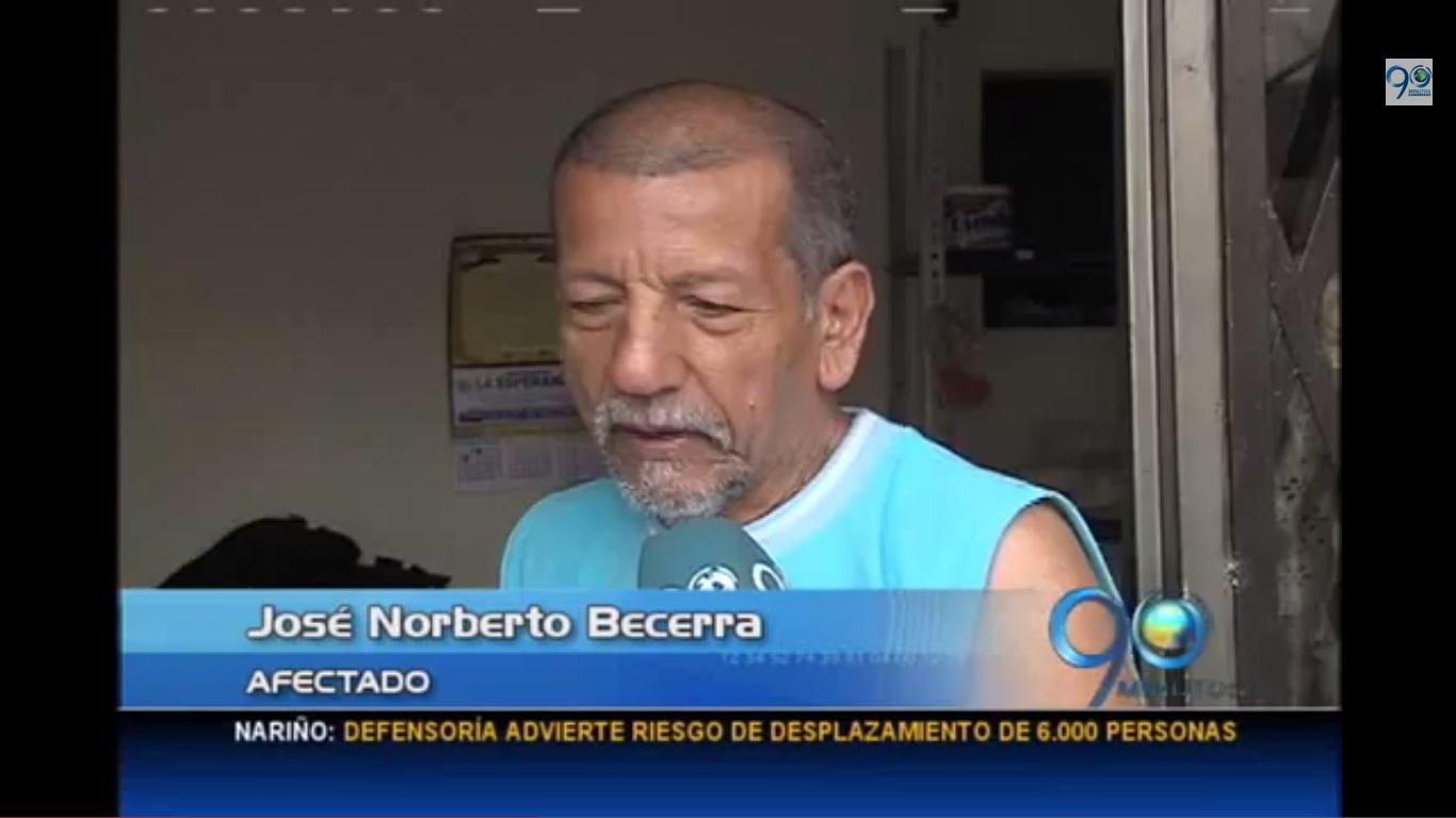 Desconocidos entraron a la fuerza a una casa del barrio Alfonso López