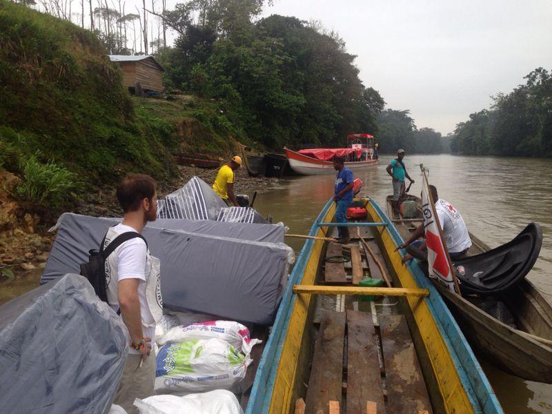 Más de mil desplazados fueron beneficiados por el CICR
