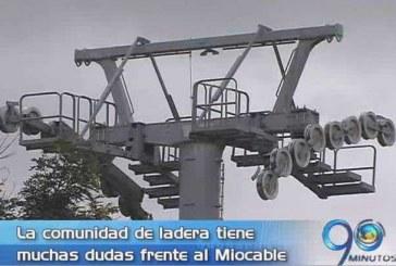 Comunidad de Siloé tiene dudas del sistema de Miocable