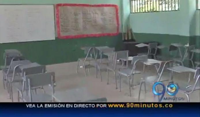 Alumnos de colegio de Guacarí protestan por falta de docentes