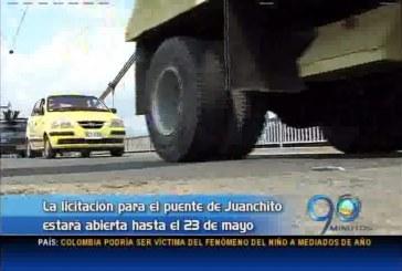 Gobernación del Valle abrió licitación para el nuevo puente de Juanchito