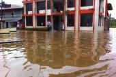 Población afectada por inundación en zona costera de Nariño