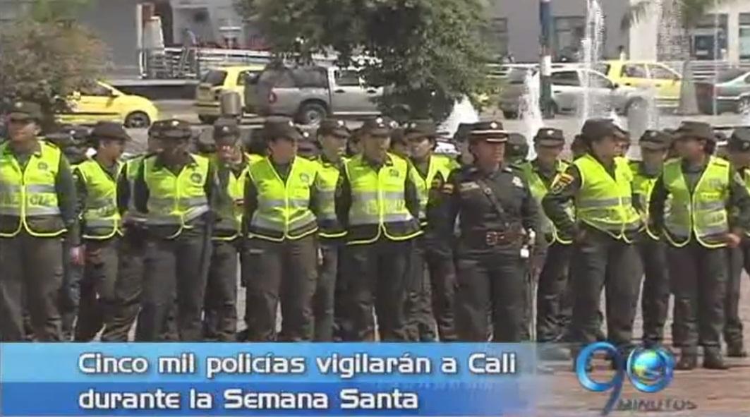 La Policía presentó su plan de seguridad para Semana Santa