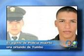 Auxiliar de policía falleció tras atentado de las Farc