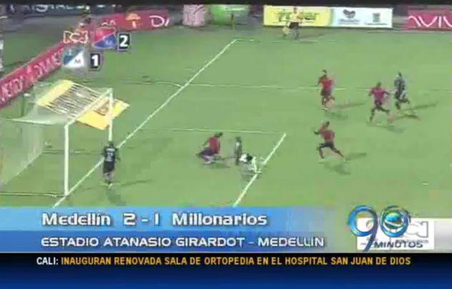 Medellín y Santa Fe vencieron en la fecha 14 de la liga colombiana