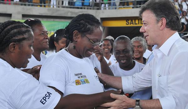 Presidente Santos presentará balance social en B/ventura